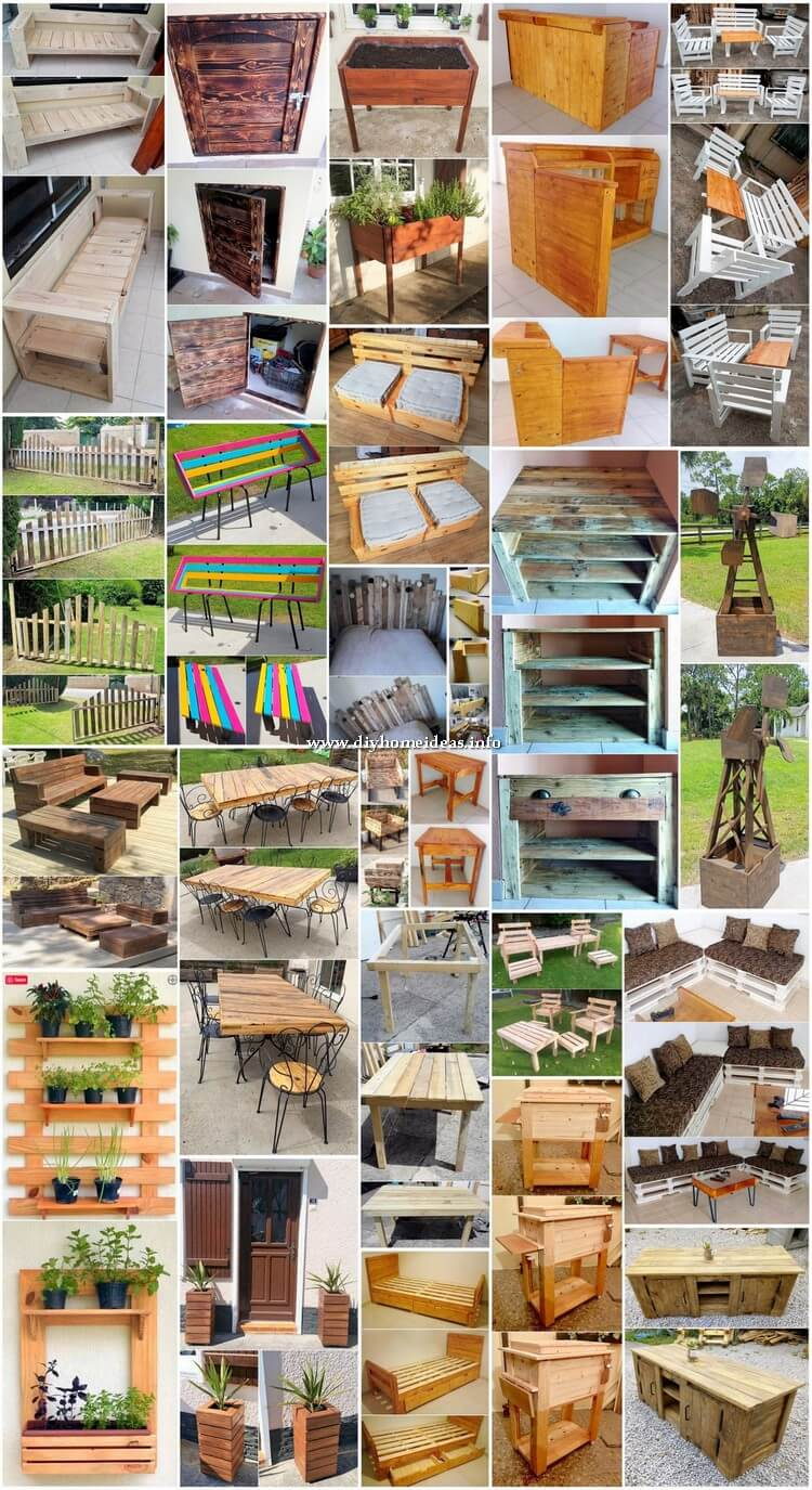 Worthwhile DIY Creations Made Out of Shipping Pallets