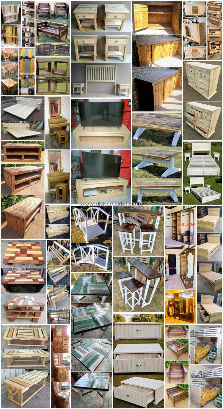 High Class DIY Ideas Made with Shipping Pallets