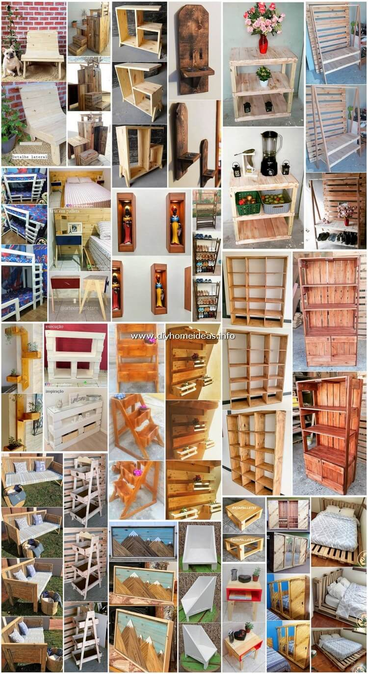 Luxurious Creations Made Out of Old Pallets