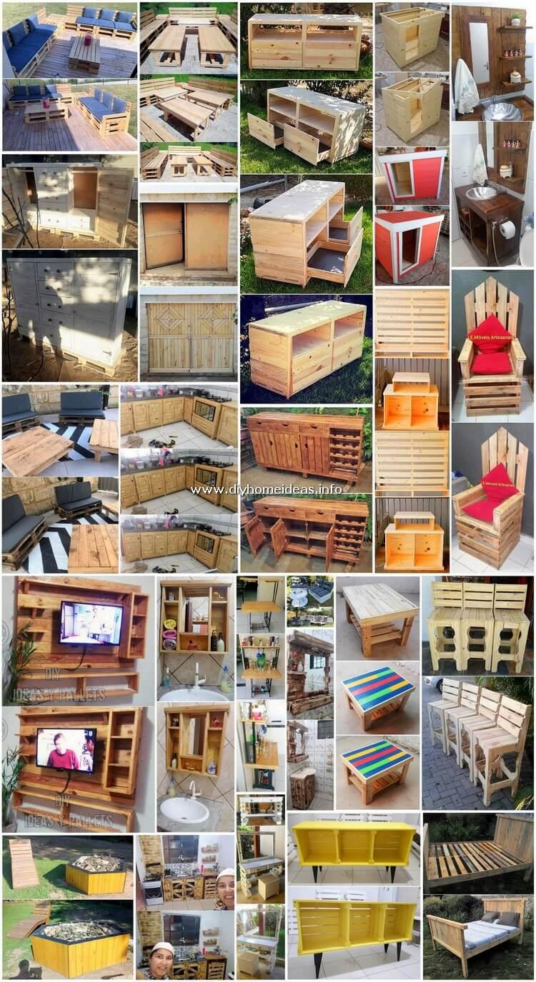 Masterly DIY Wood Shipping Pallet Creations