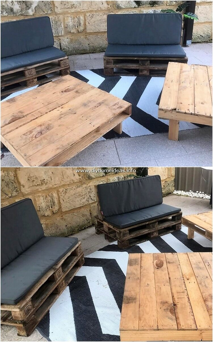 Pallet Benches and Tables