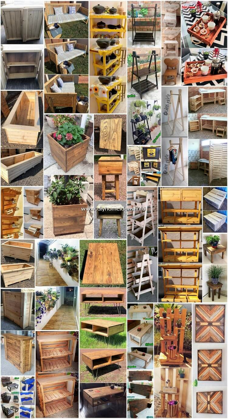 Some Creative and Brilliant Ideas with Pallets