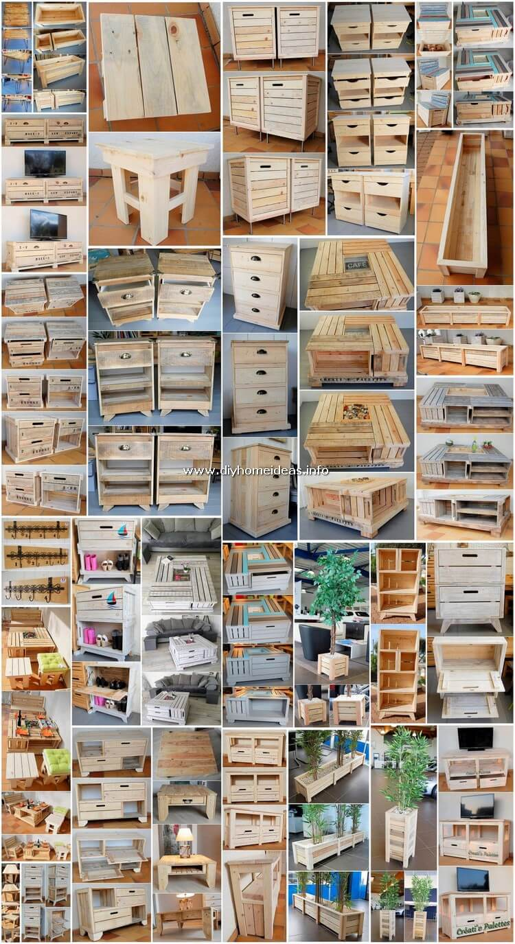 30 Amazing Wooden Shipping Pallets DIY Ideas