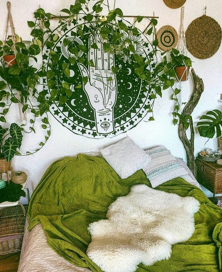 Bohemian Interior Decor Design (16)