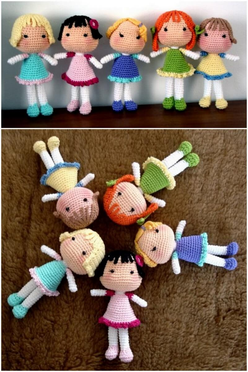 Crochet Amigurumi Doll Pattern (1)