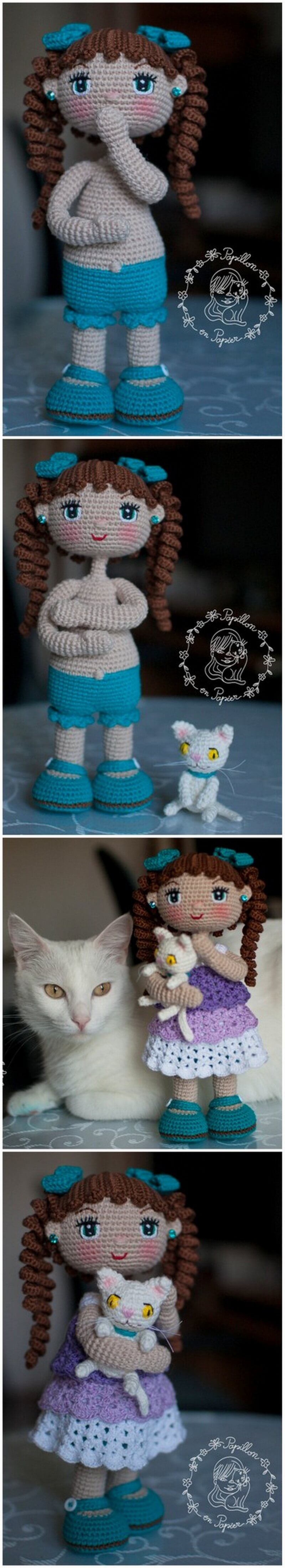 Crochet Amigurumi Doll Pattern (11)