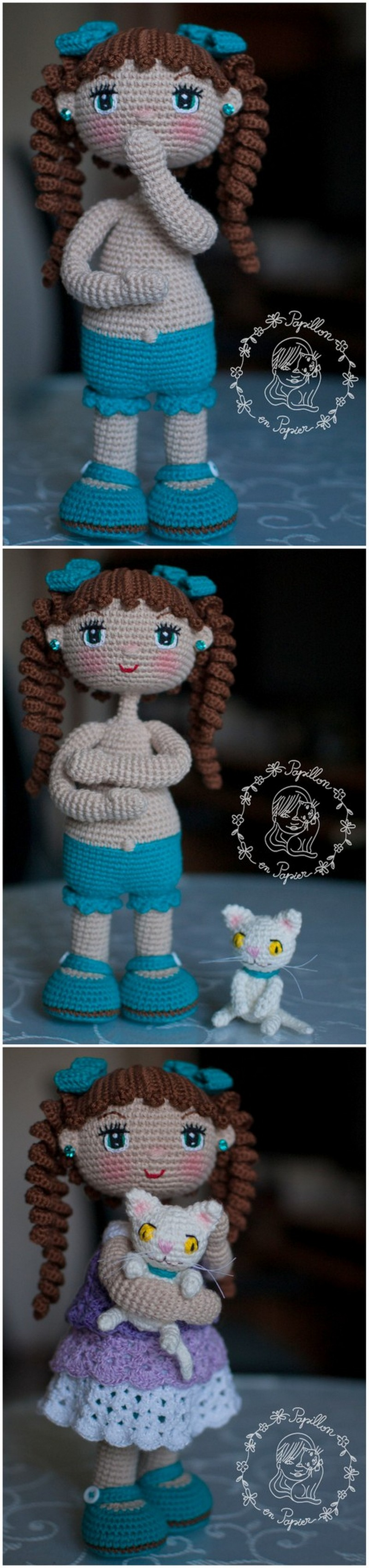 Crochet Amigurumi Doll Pattern (13)