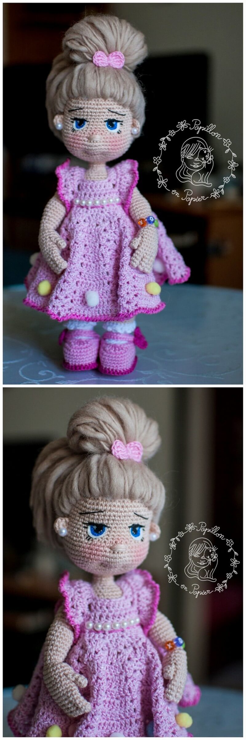 Crochet Amigurumi Doll Pattern (14)