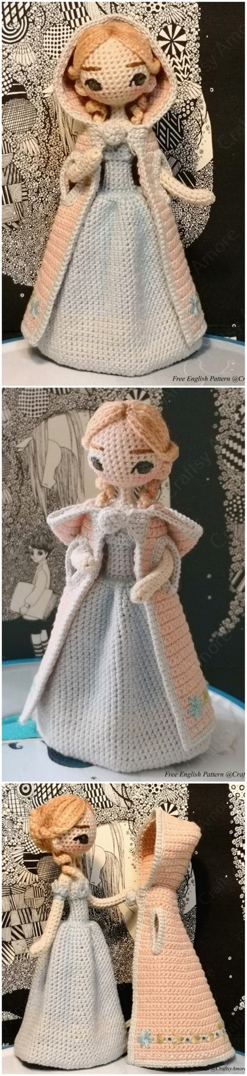 Crochet Amigurumi Doll Pattern (19)