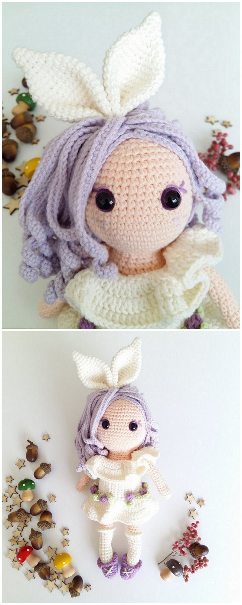 Crochet Amigurumi Doll Pattern (21)
