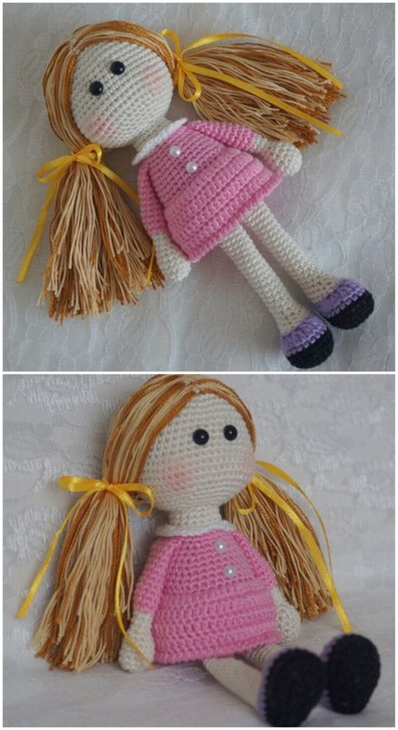 Crochet Amigurumi Doll Pattern (22)