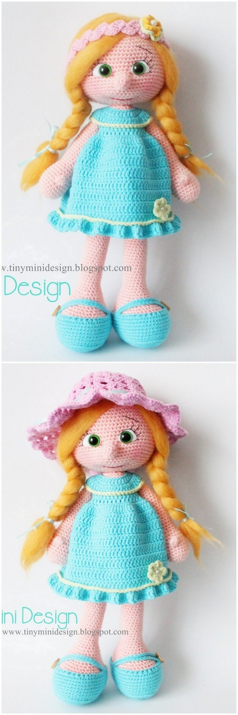 Crochet Amigurumi Doll Pattern (23)
