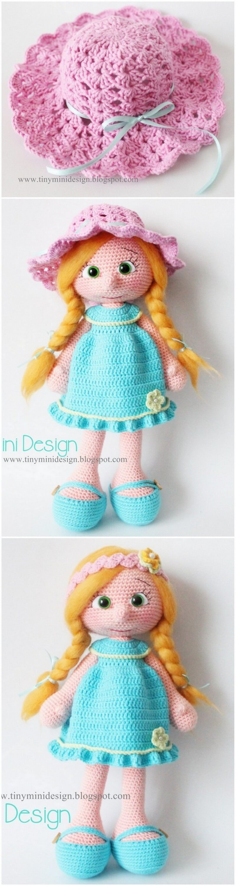 Crochet Amigurumi Doll Pattern (24)