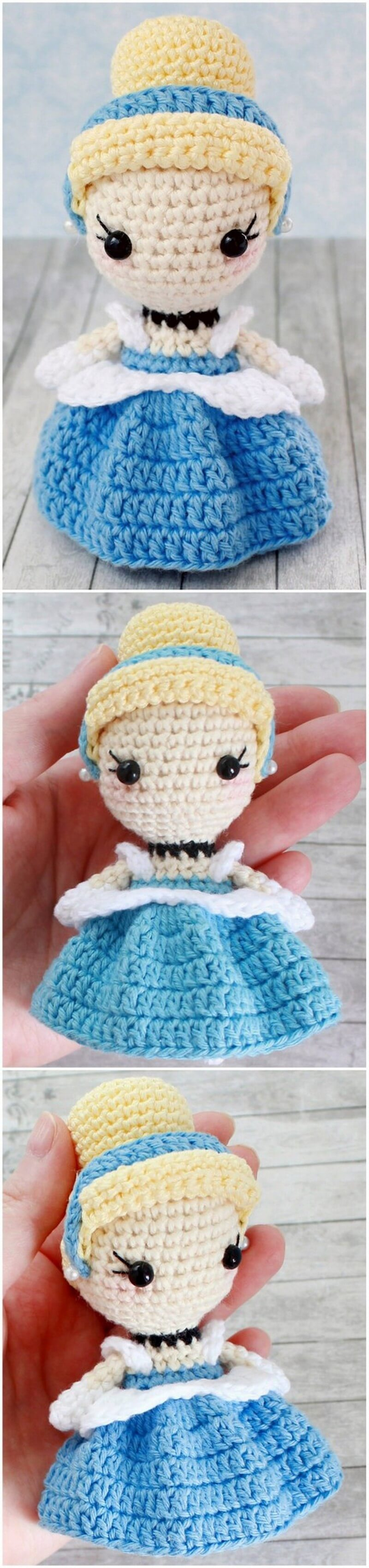 Crochet Amigurumi Doll Pattern (25)