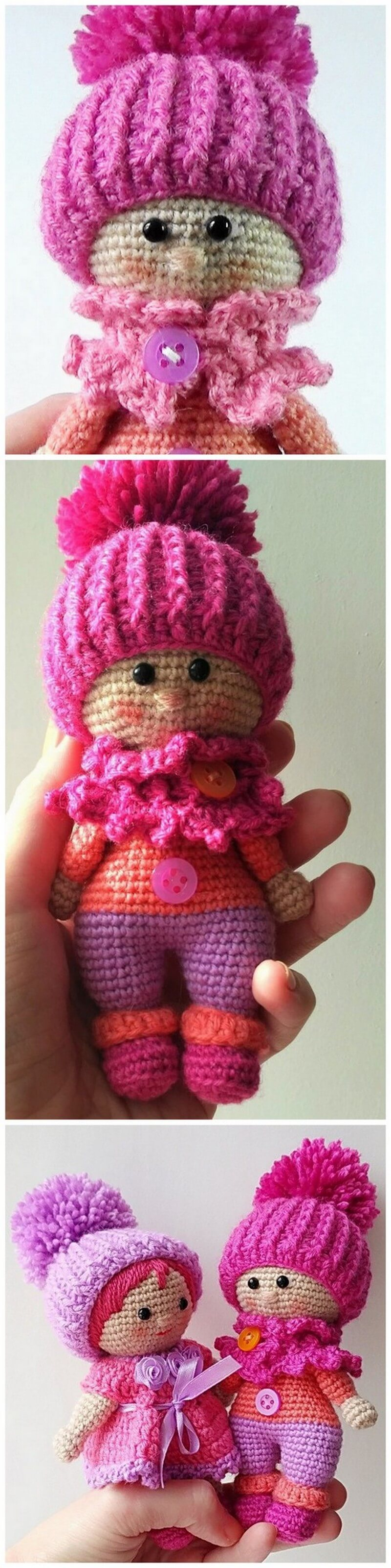 Crochet Amigurumi Doll Pattern (26)