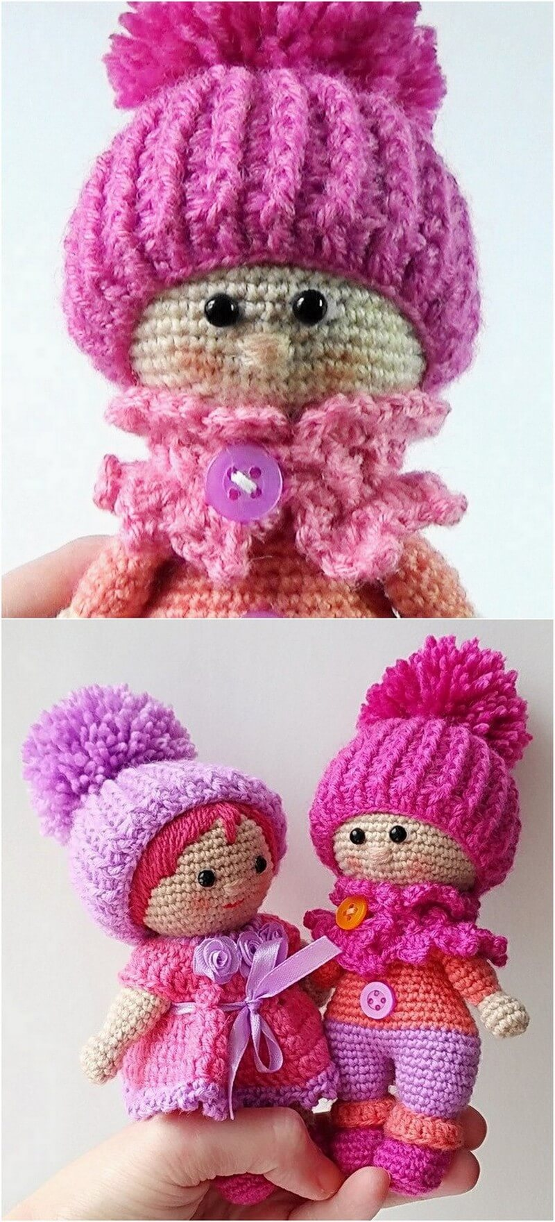 Crochet Amigurumi Doll Pattern (27)