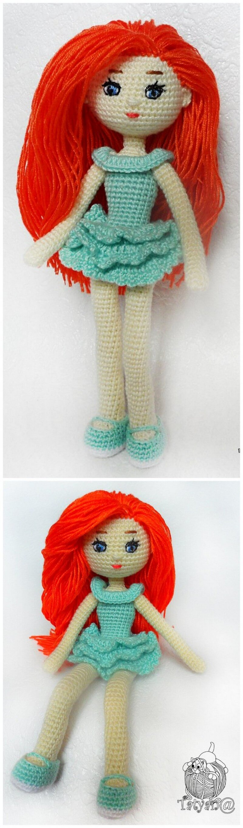 Crochet Amigurumi Doll Pattern (28)