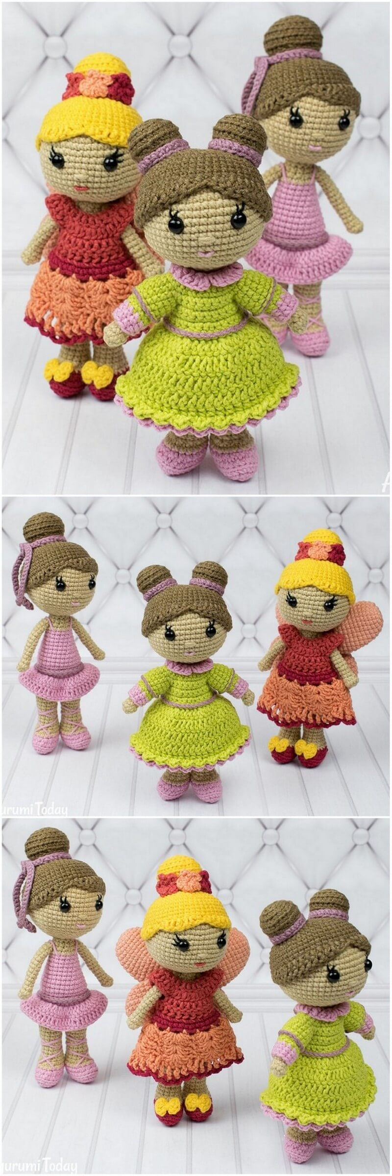 Crochet Amigurumi Doll Pattern (33)