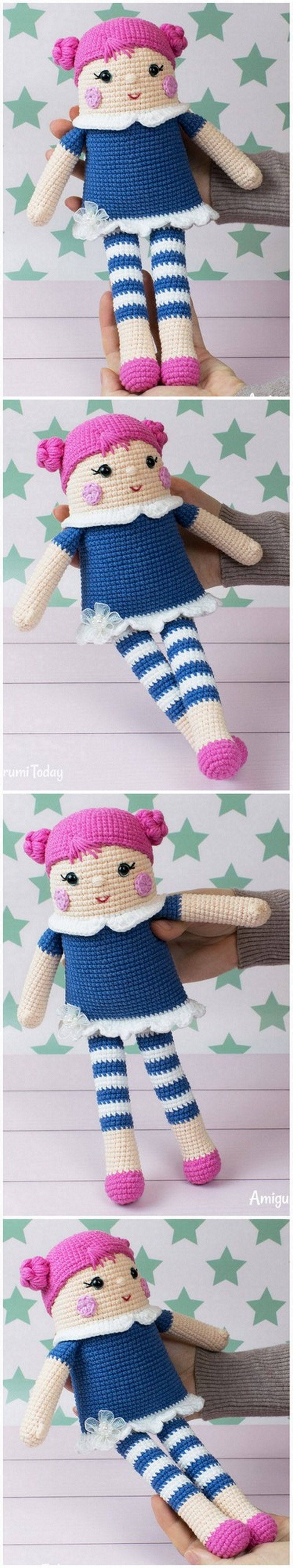 Crochet Amigurumi Doll Pattern (35)