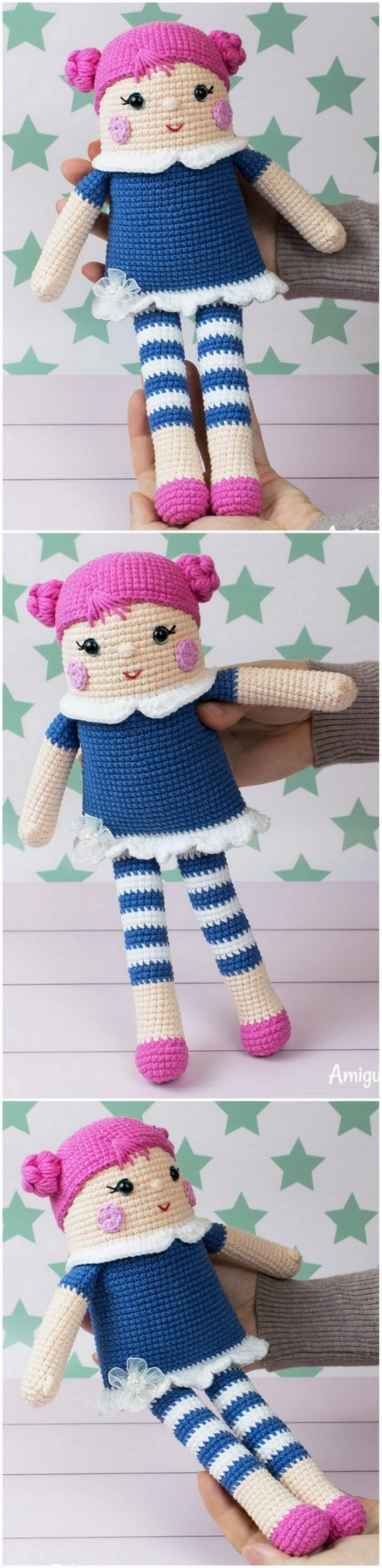 Crochet Amigurumi Doll Pattern (36)