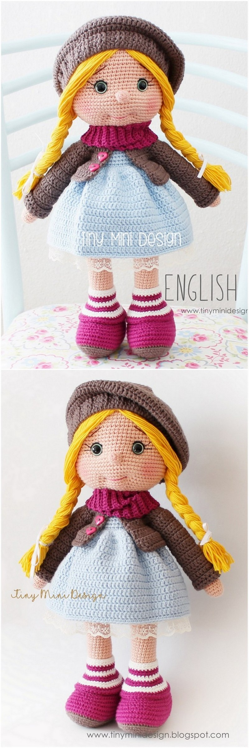 Crochet Amigurumi Doll Pattern (38)