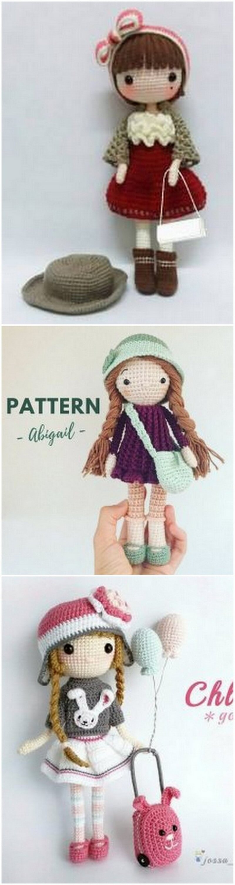 Crochet Amigurumi Doll Pattern (39)