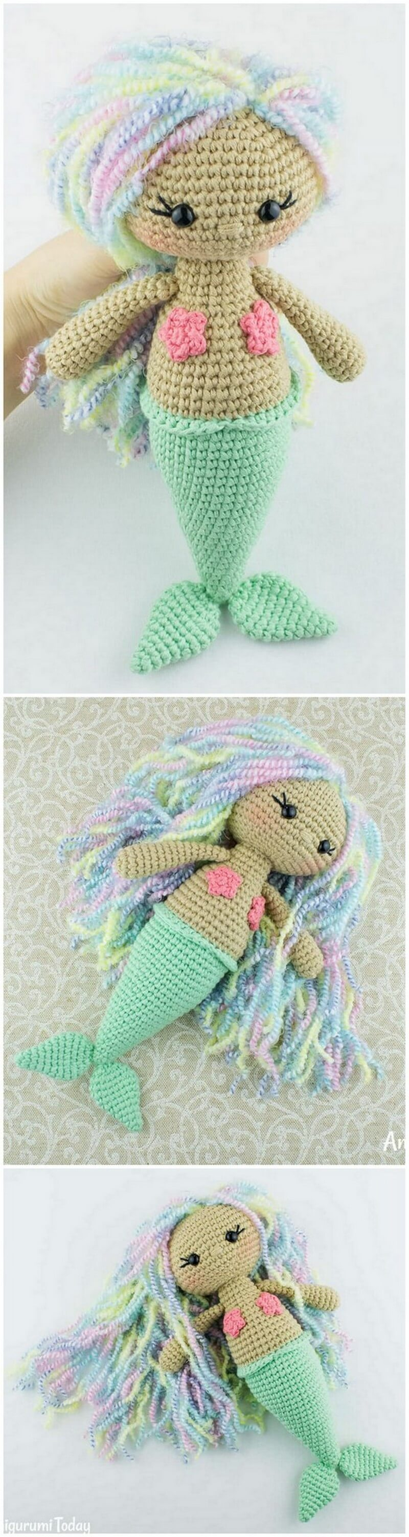 Crochet Amigurumi Doll Pattern (40)