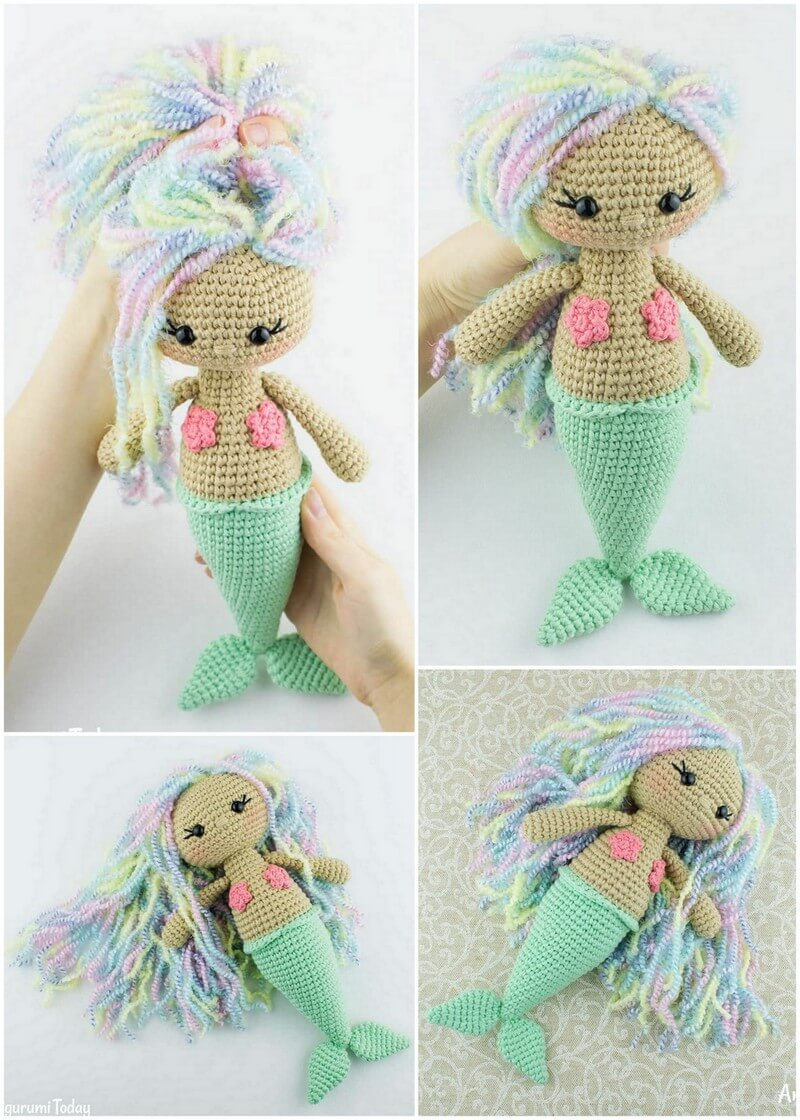 Crochet Amigurumi Doll Pattern (41)