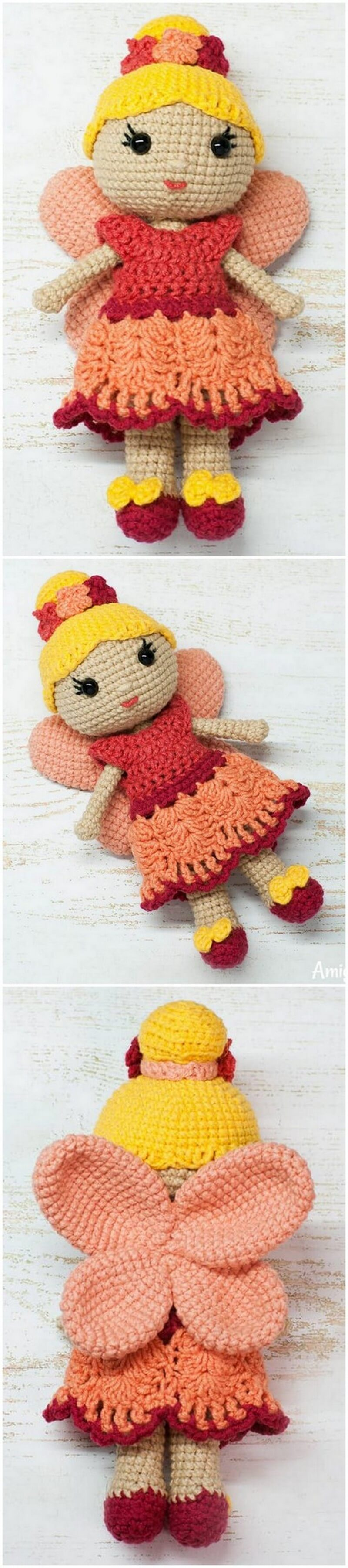 Crochet Amigurumi Doll Pattern (42)
