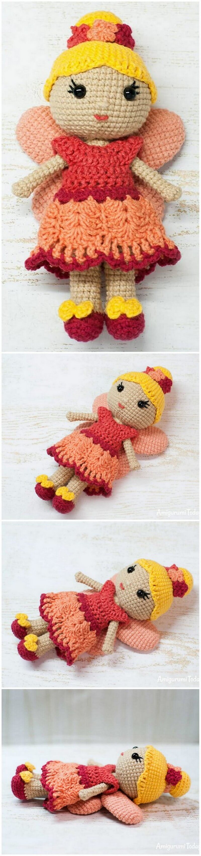 Crochet Amigurumi Doll Pattern (44)