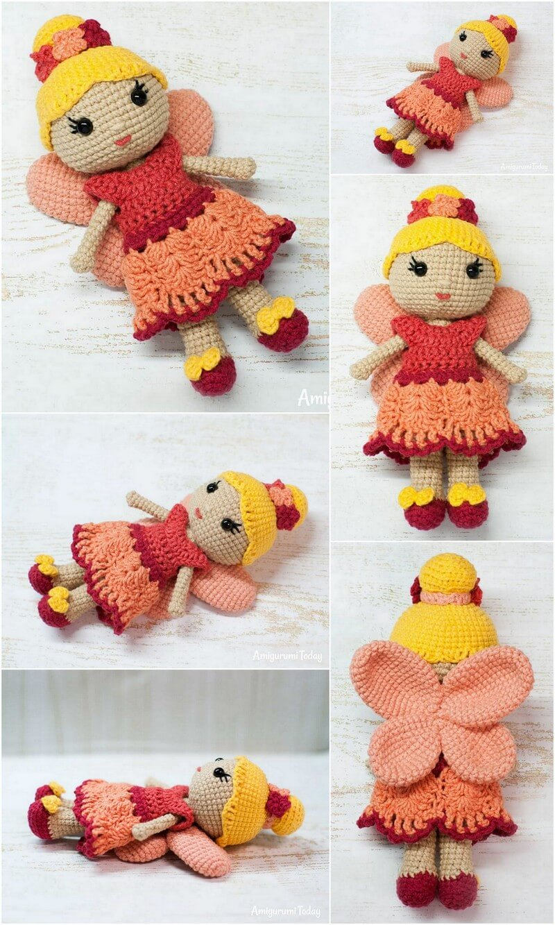 Crochet Amigurumi Doll Pattern (45)