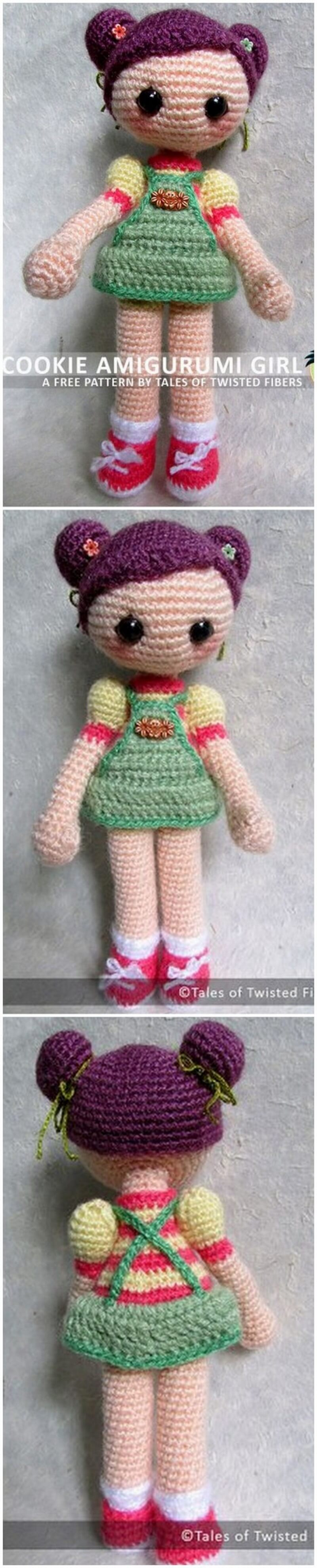 Crochet Amigurumi Doll Pattern (46)