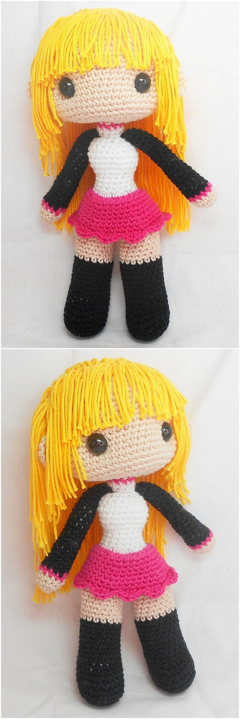 Crochet Amigurumi Doll Pattern (47)