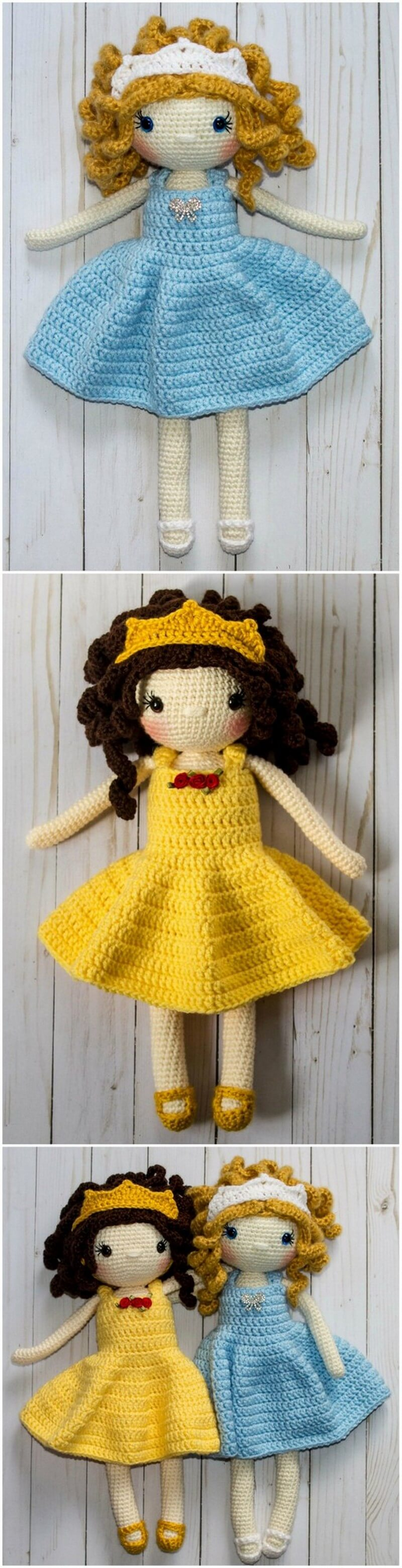 Crochet Amigurumi Doll Pattern (48)