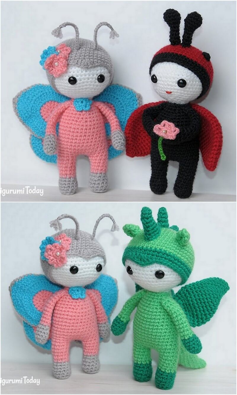 Crochet Amigurumi Doll Pattern (49)