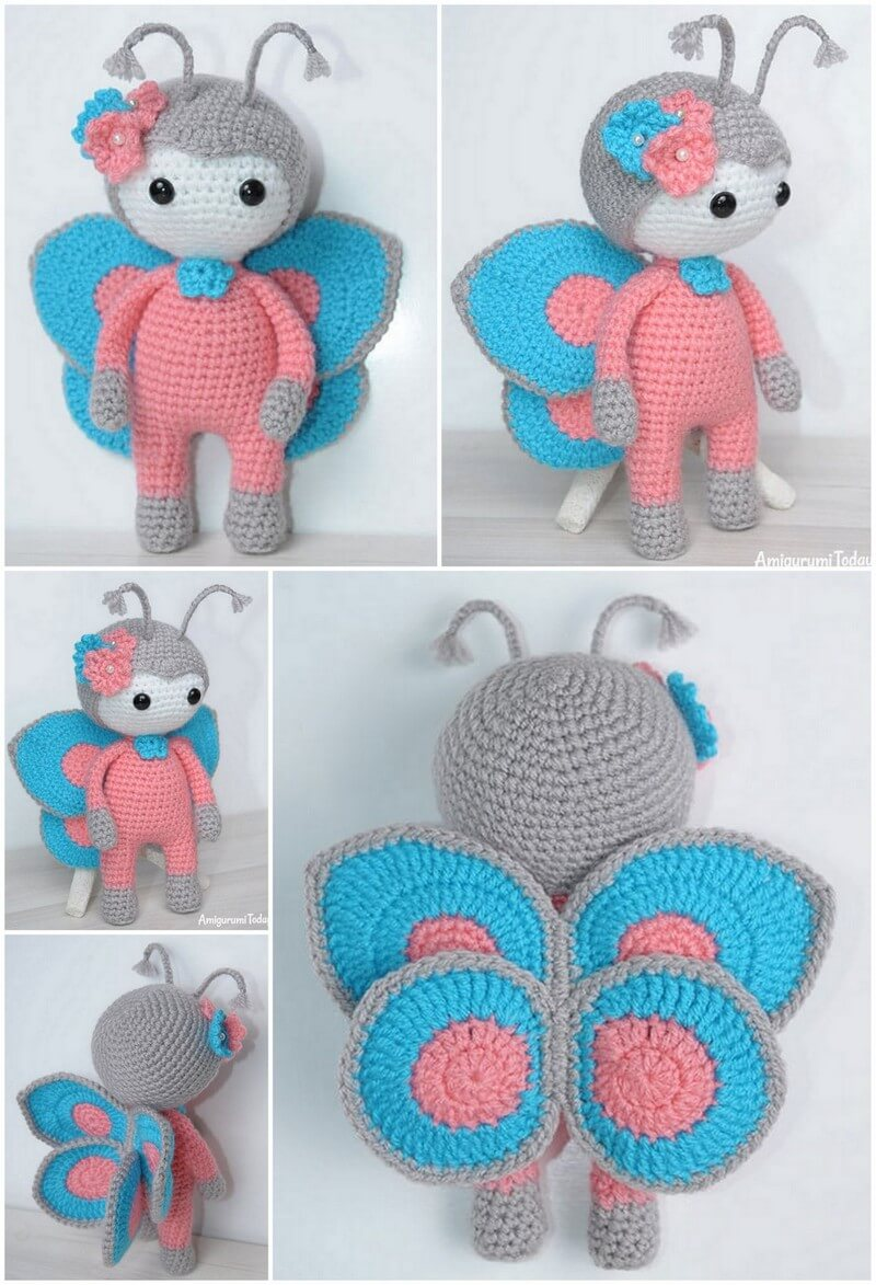 Crochet Amigurumi Doll Pattern (51)