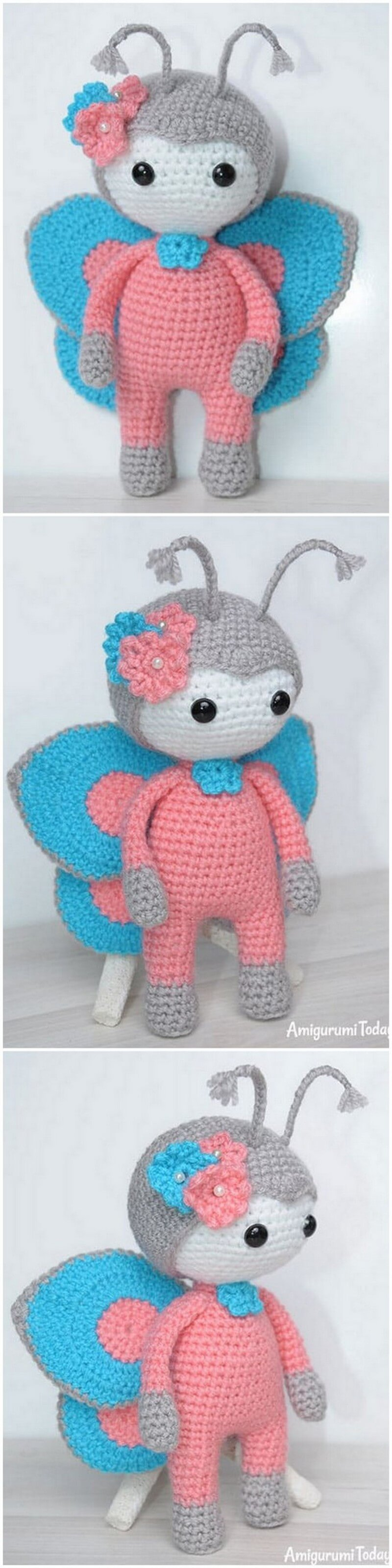 Crochet Amigurumi Doll Pattern (52)