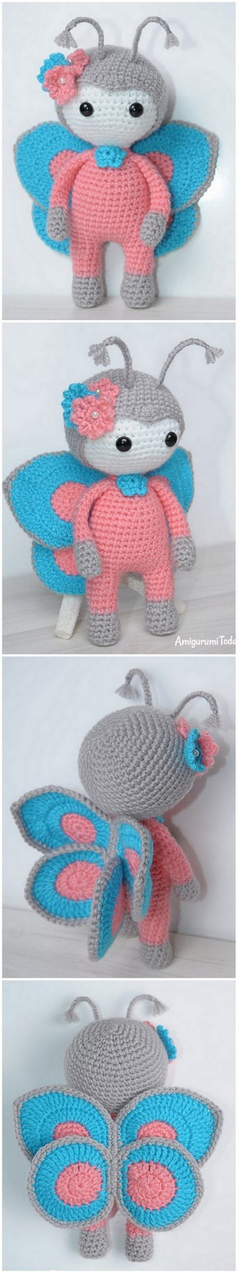 Crochet Amigurumi Doll Pattern (53)