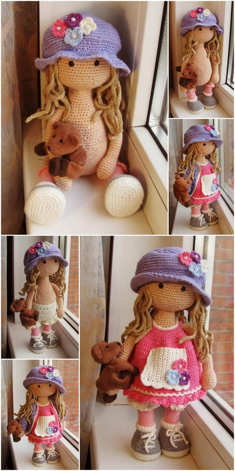 Crochet Amigurumi Doll Pattern (56)