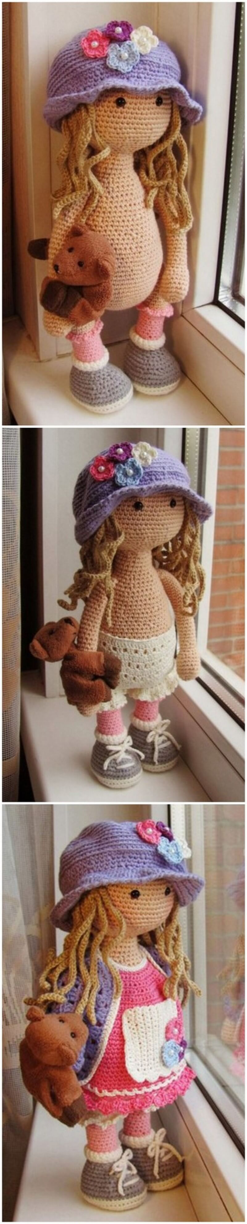 Crochet Amigurumi Doll Pattern (58)