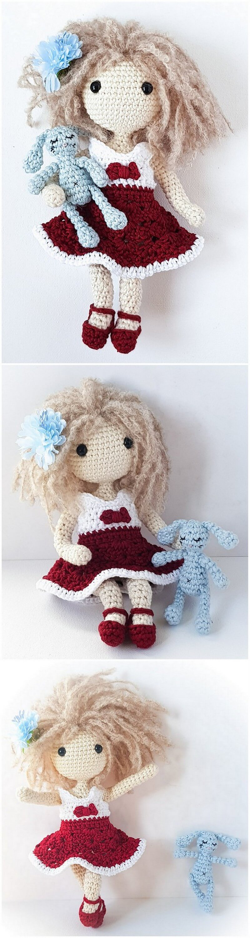 Crochet Amigurumi Doll Pattern (60)