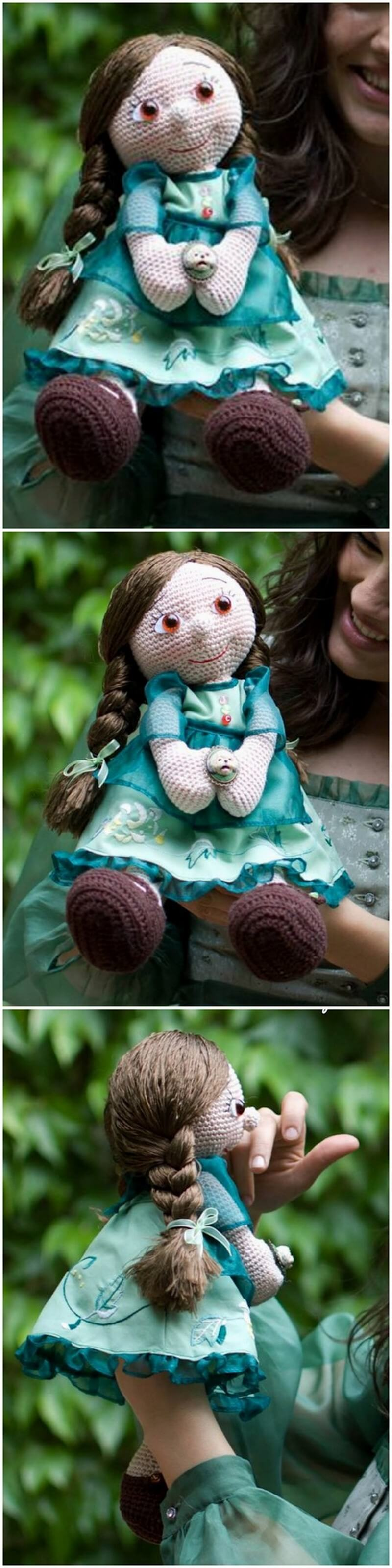 Crochet Amigurumi Doll Pattern (7)