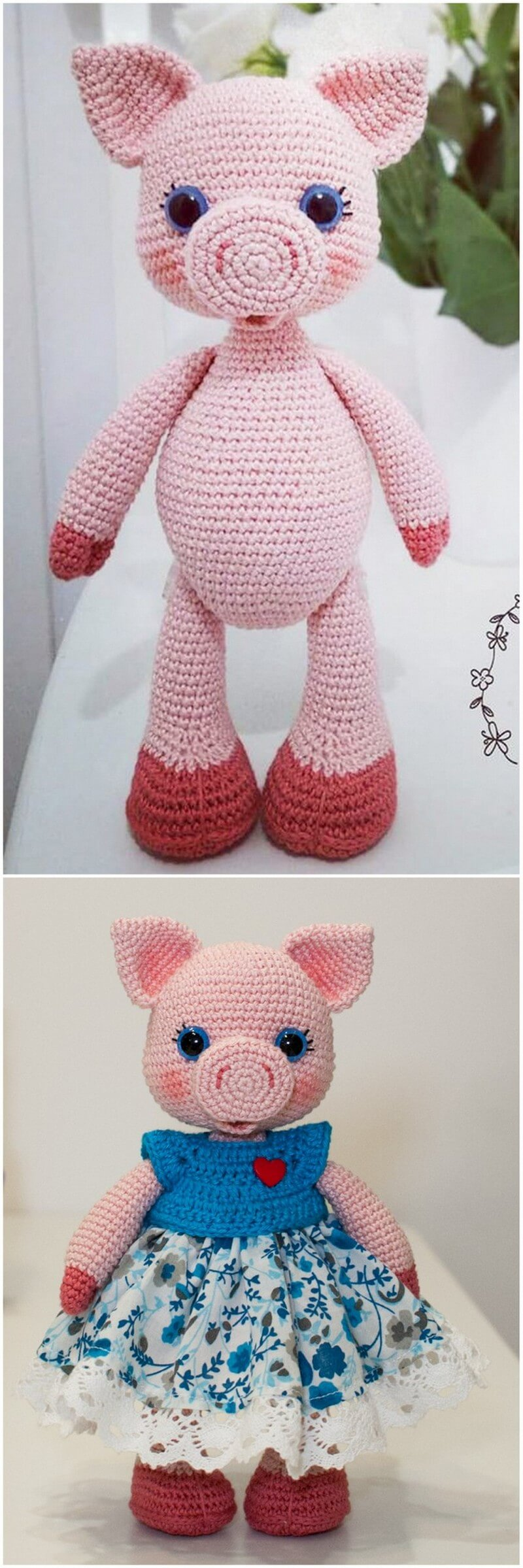 Crochet Amigurumi Doll Pattern (8)