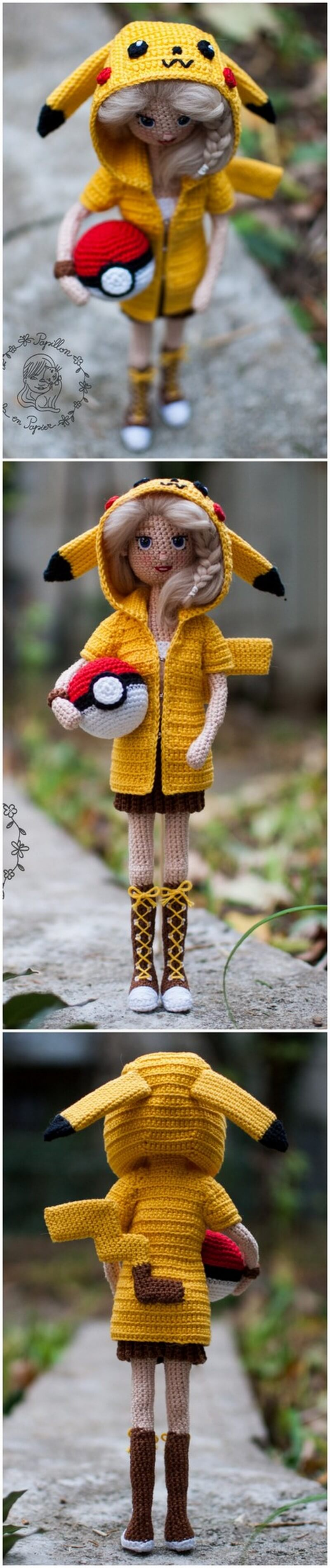 Crochet Amigurumi Doll Pattern (9)