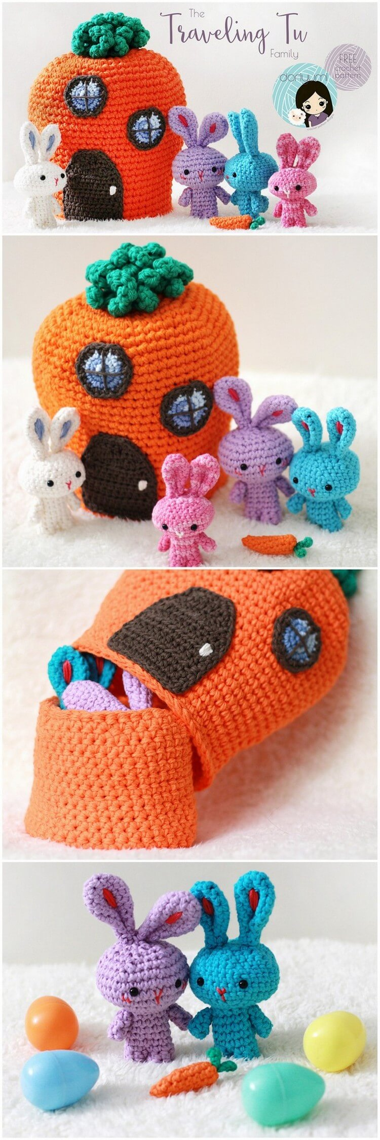 Crochet Amigurumi Pattern (110)