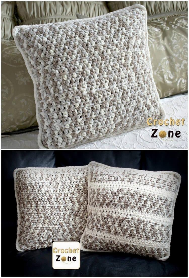 Crochet Pillow Free Pattern (1)