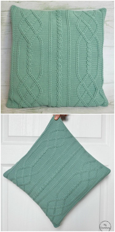 Crochet Pillow Free Pattern (13)