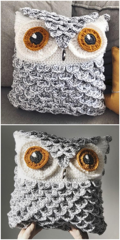 Crochet Pillow Free Pattern (18)