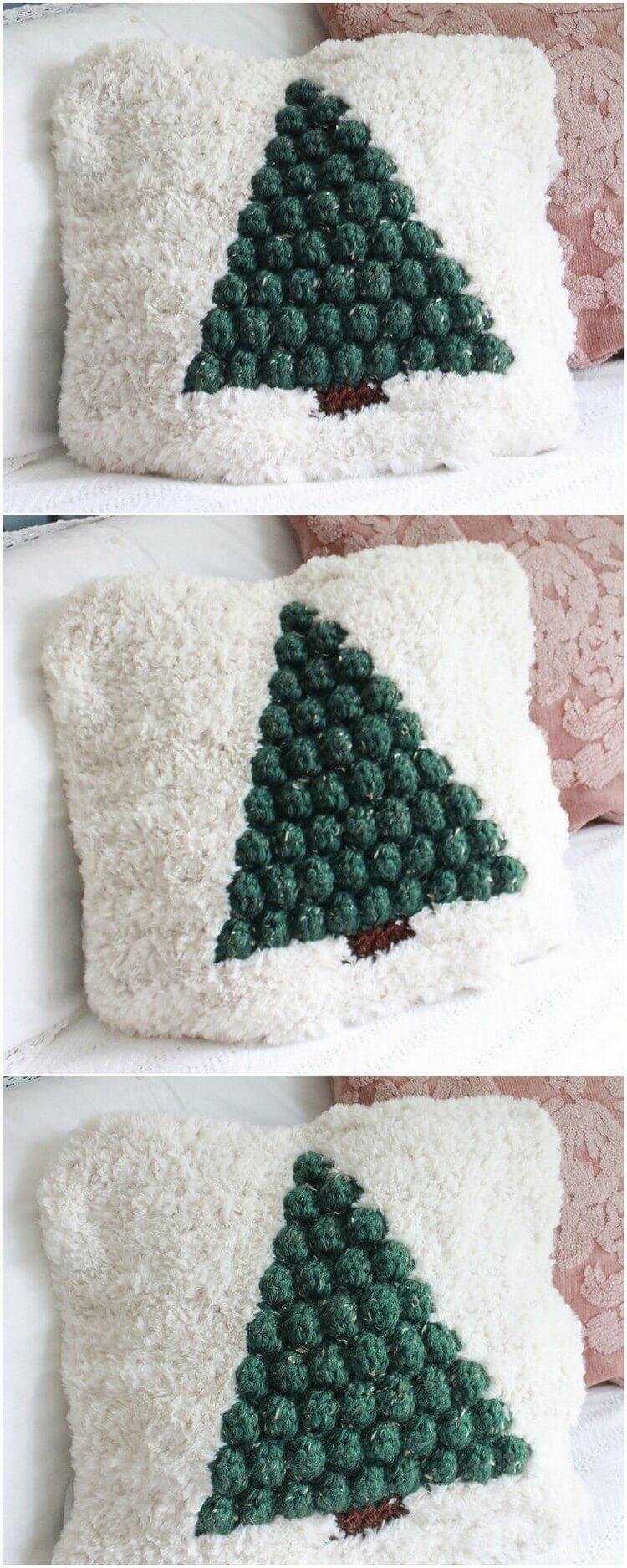 Crochet Pillow Free Pattern (21)