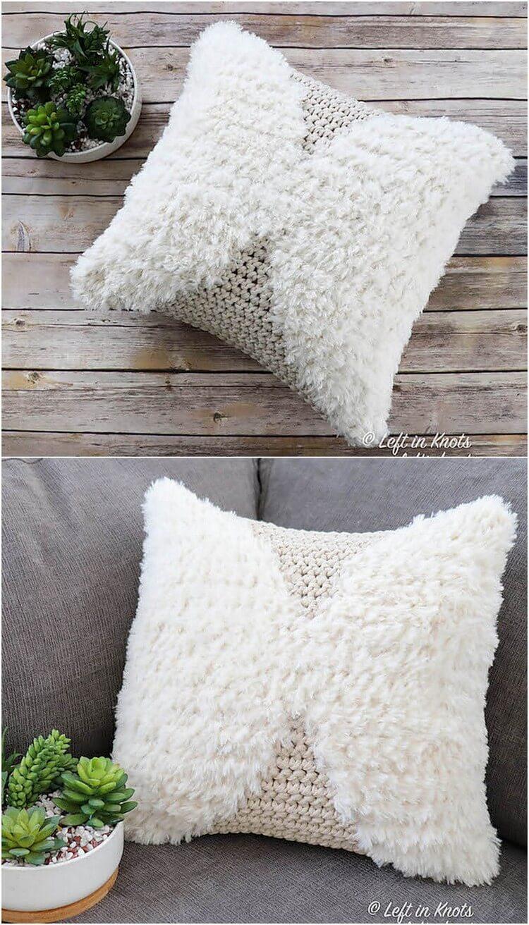 Crochet Pillow Free Pattern (22)